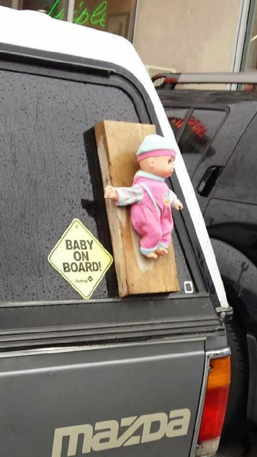 BABY ON BOARD modified
