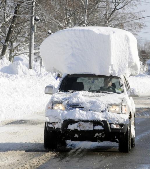 SNOW CAR modified
