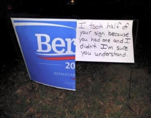 BERNIE SIGN modified